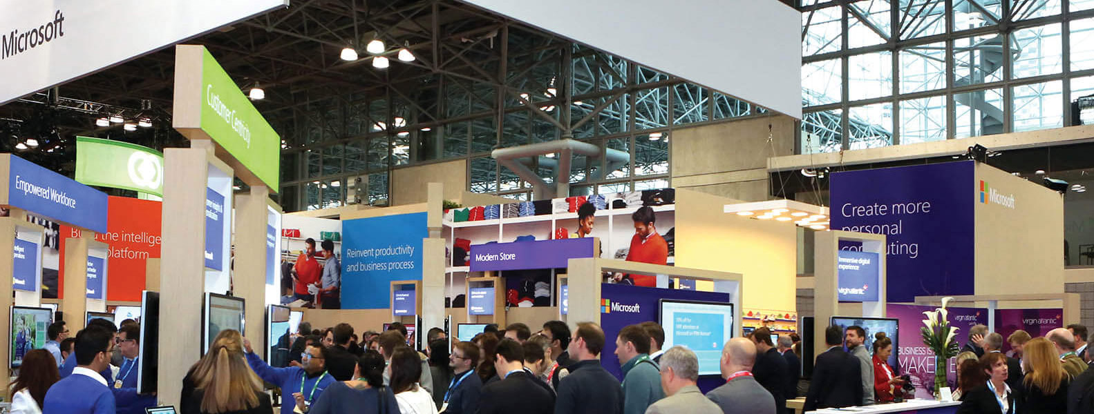 360dgrees and Microsoft – showcasing how interactive reality is shaping the face of connected retail at NRF 2018